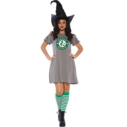 Womens Basic Witch Dress Image #1