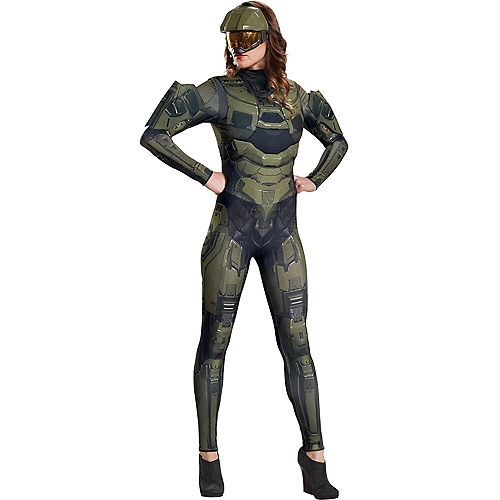 Womens Master Chief Costume - Halo Image #1