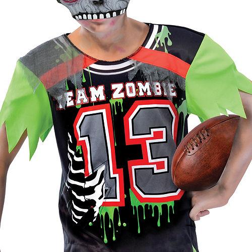 Boys Zombie Football Player Costume Image #3