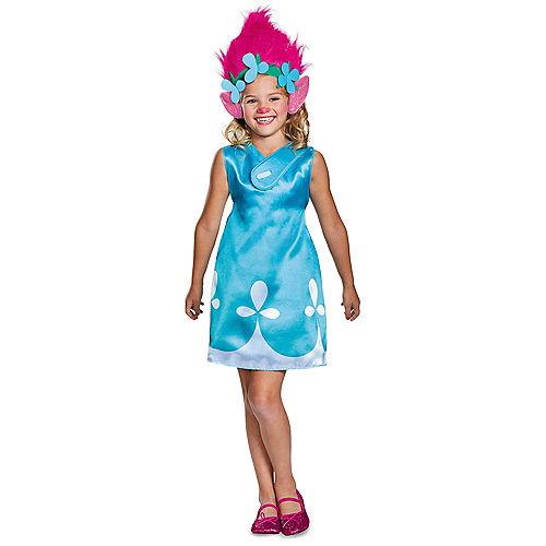 Girls Poppy Costume - Trolls Image #1