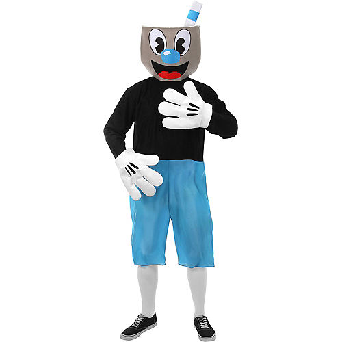 Adult Mugman Costume - Cuphead Image #1