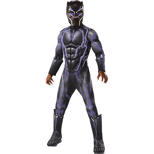 Boys Light-Up Black Panther Costume - Black Panther Movie Image #1