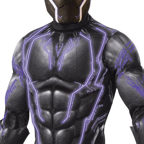 Boys Light-Up Black Panther Costume - Black Panther Movie Image #3