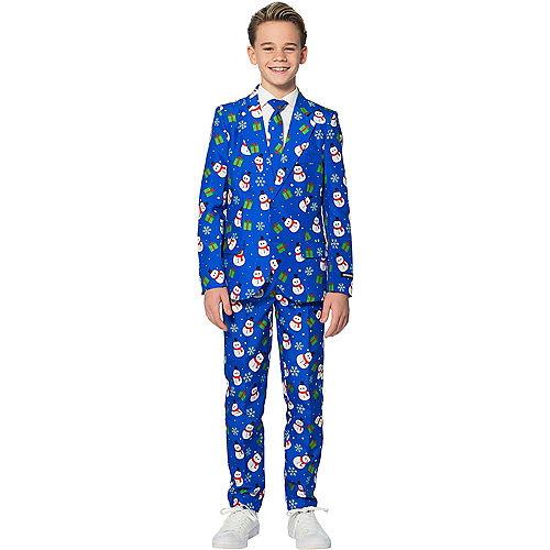 Child Snowman & Presents Suit Image #1