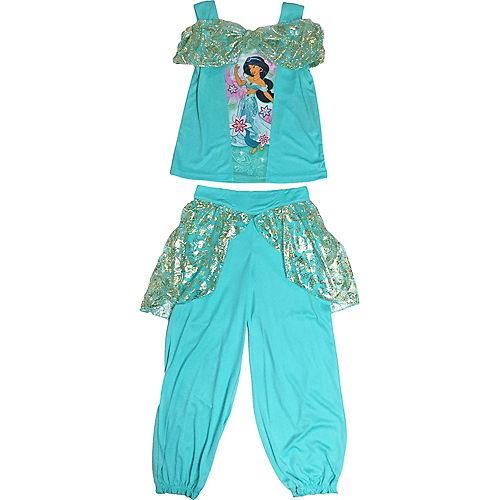 Girls Princess Jasmine Pajama Set - Aladdin Image #1