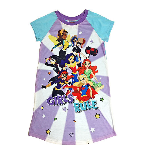 Child DC Comics Girls Rule Sleep Shirt Image #1