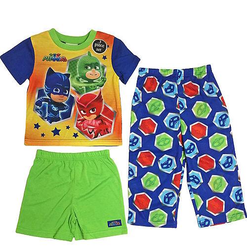 Toddler Boys PJ Masks Pajama Set 3pc Image #1