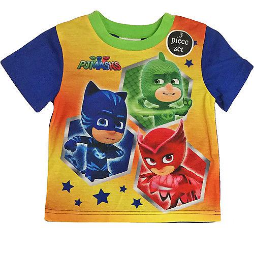 Toddler Boys PJ Masks Pajama Set 3pc Image #2