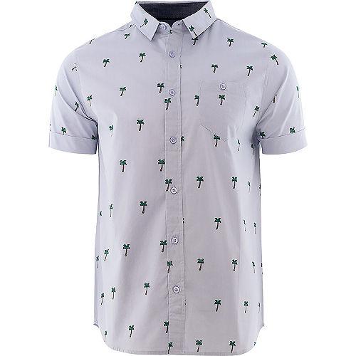 Mens Palm Tree Hawaiian Shirt Image #1