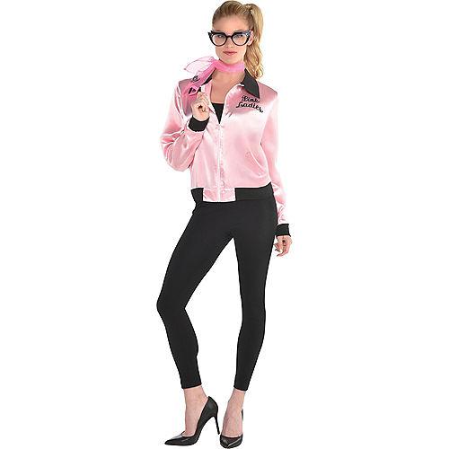 Womens Pink Ladies Costume Accessory Kit Image #1