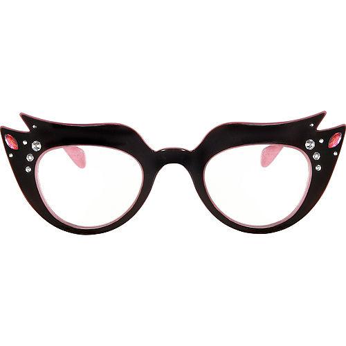 Womens Pink Ladies Costume Accessory Kit Image #2