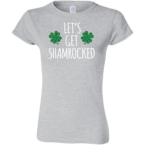 Womens Let's Get Shamrocked T-Shirt Image #1