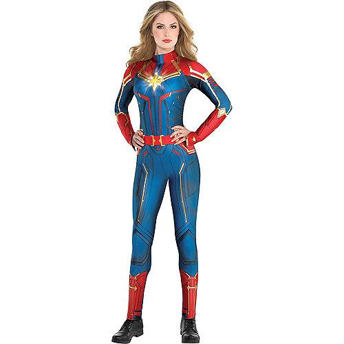 Adult Light-Up Captain Marvel Costume - Captain Marvel Image #1
