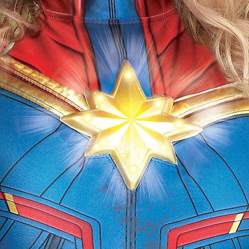 Adult Light-Up Captain Marvel Costume Plus Size - Captain Marvel Image #4