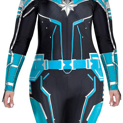 Adult Captain Marvel Starforce Costume Plus Size- Captain Marvel Image #2