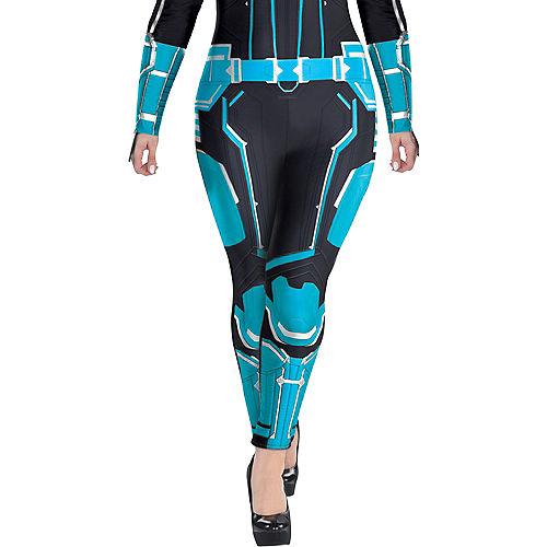 Adult Captain Marvel Starforce Costume Plus Size- Captain Marvel Image #3
