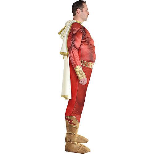 Adult Light-Up Shazam Muscle Costume Plus Size Image #2