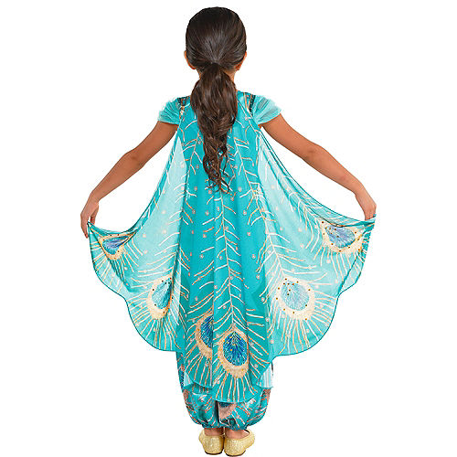 Nav Item for Child Jasmine Whole New World Costume - Aladdin Image #5