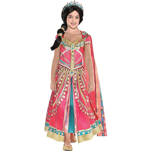 Nav Item for Child Pink Jasmine Costume - Aladdin Image #1