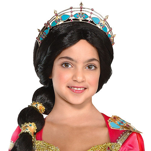 Nav Item for Child Pink Jasmine Costume - Aladdin Image #2