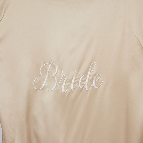 Champagne Bride Robe Image #2