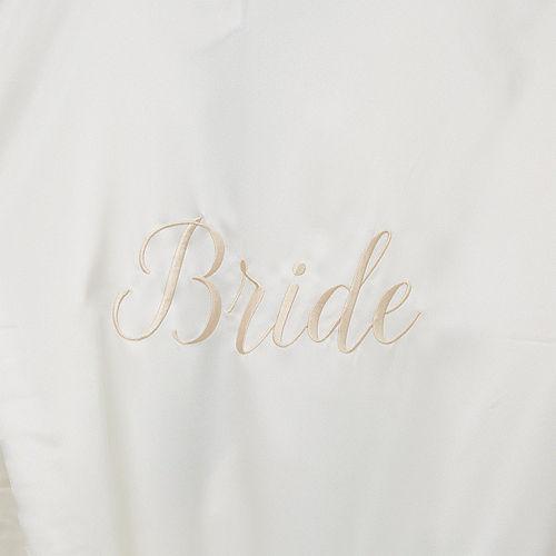 Ivory Bride Robe Image #2