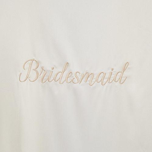Ivory Bridesmaid Robe Image #2