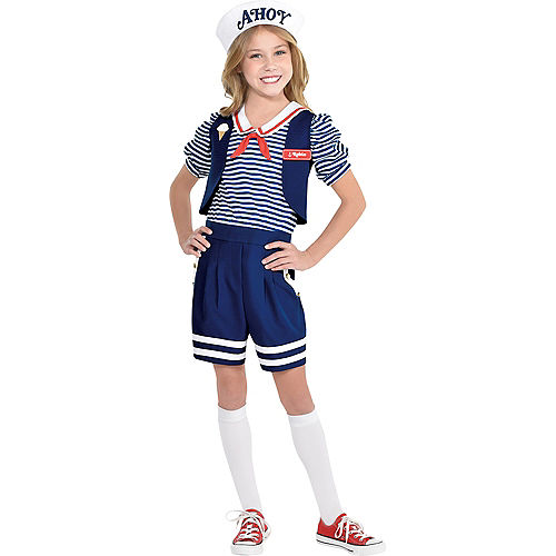 Child Robin Scoops Ahoy Costume - Stranger Things Image #1