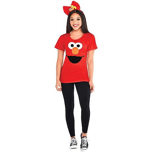 Adult Elmo Costume Accessory Kit - Sesame Street Image #1