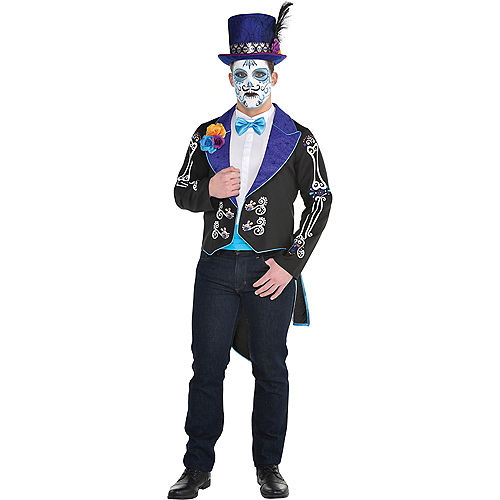 Adult Neon Day of the Dead Jacket Image #1