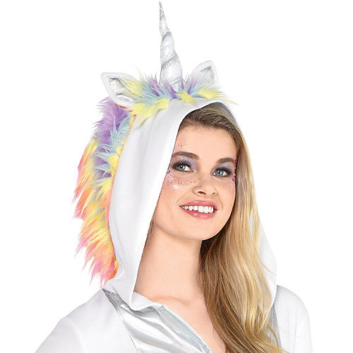 Adult Unicorn Zipster Costume Image #3