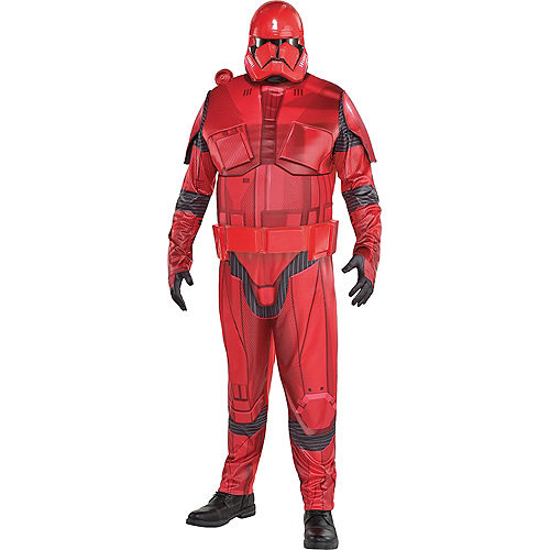 Adult Sith Trooper Costume Plus Size - Star Wars: Episode IX Rise of Skywalker Image #1