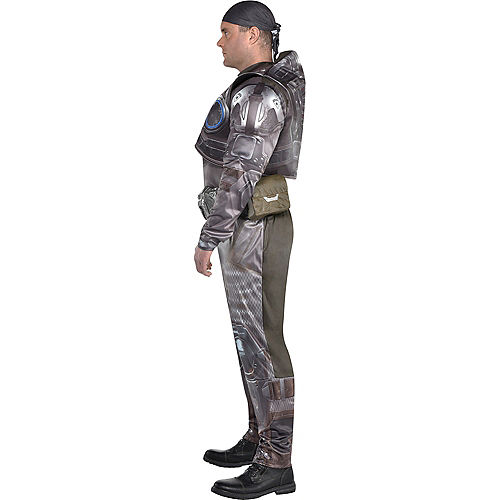 Adult Marcus Fenix Muscle Costume Plus Size - Gears of War Image #2