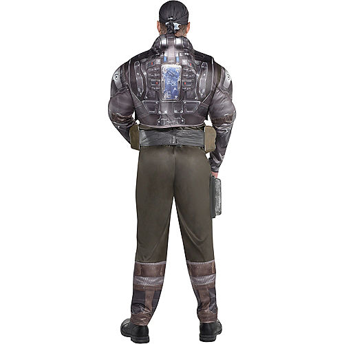 Adult Marcus Fenix Muscle Costume Plus Size - Gears of War Image #3