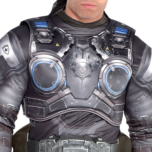 Adult Marcus Fenix Muscle Costume - Gears of War Image #2