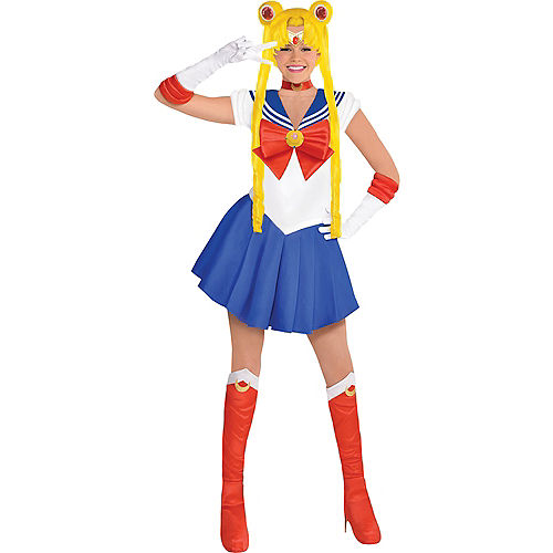 Adult Sailor Moon Costume Image #1