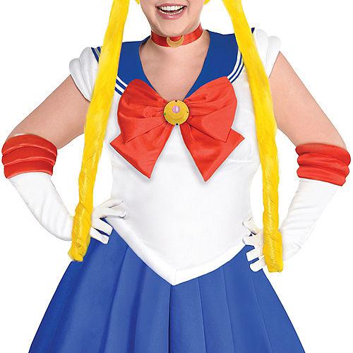 Adult Sailor Moon Costume Plus Size Image #2