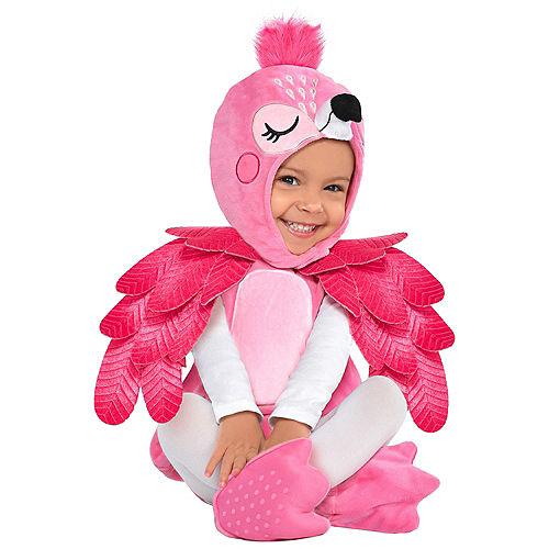 Child Flamingo Costume Image #1
