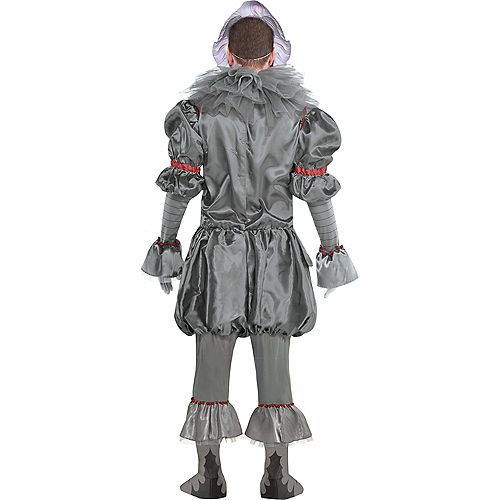 Adult Tattered Pennywise Deluxe Costume - It Chapter Two Image #2