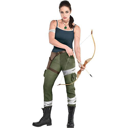 Adult Lara Croft Costume - Tomb Raider Video Game Image #1