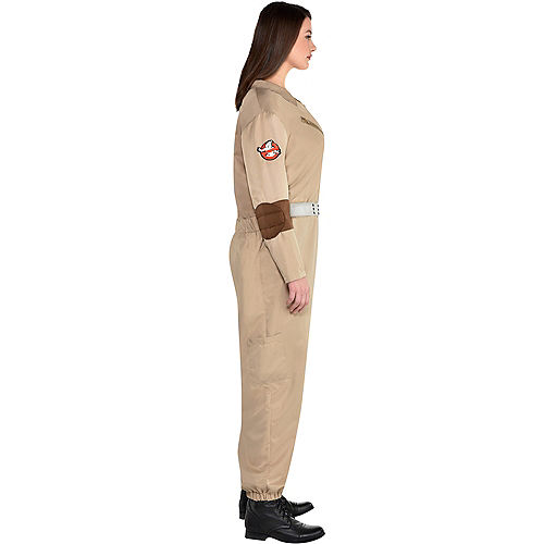 Adult Classic Ghostbusters Costume Plus Size Image #2
