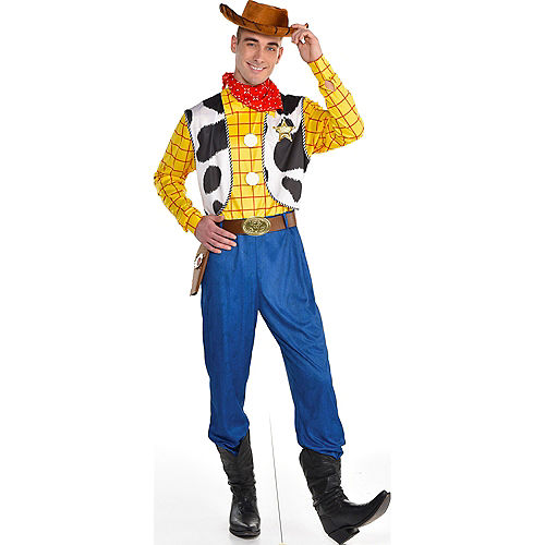 Adult Woody Costume - Toy Story 4 Image #1