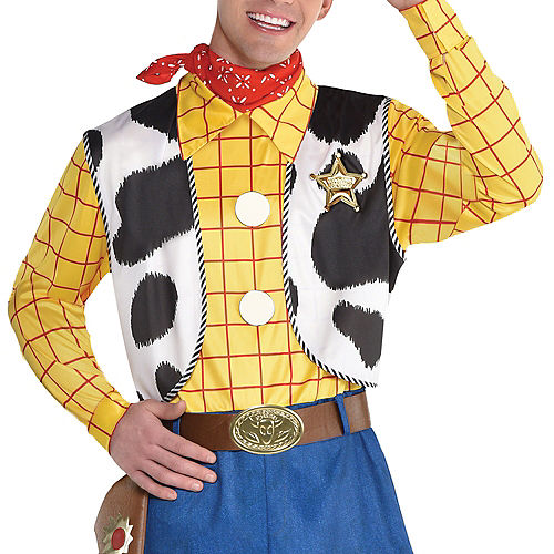 Adult Woody Costume - Toy Story 4 Image #4