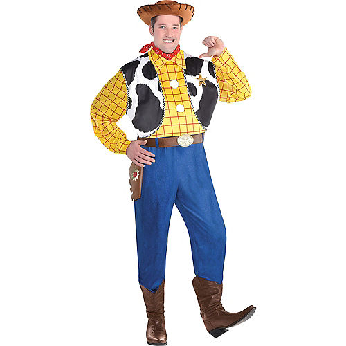Adult Woody Costume Plus Size - Toy Story 4 Image #1