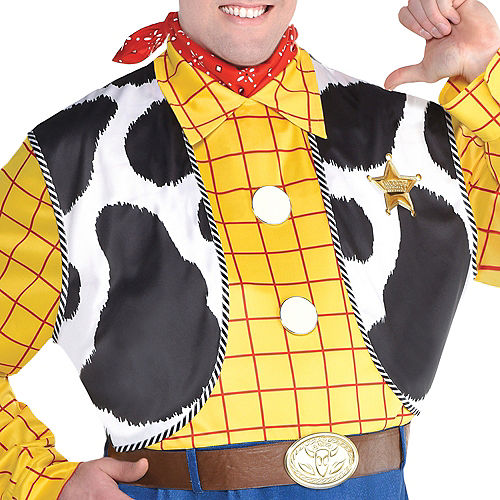 Adult Woody Costume Plus Size - Toy Story 4 Image #4