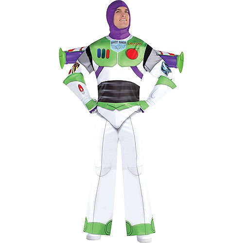 Adult Buzz Lightyear Deluxe Costume - Toy Story 4 Image #1