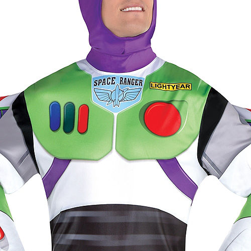 Adult Buzz Lightyear Deluxe Costume - Toy Story 4 Image #4