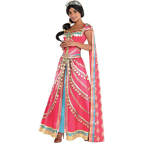 Adult Royal Jasmine Costume - Aladdin Live-Action Image #1