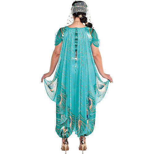 Adult Jasmine Whole New World Costume Plus Size - Aladdin Live-Action Image #3