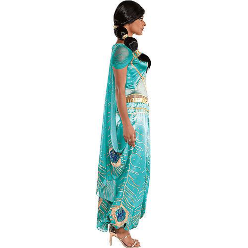 Adult Jasmine Whole New World Costume - Aladdin Live-Action Image #3